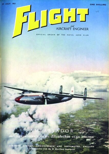 27 july 2 august 1951 front cover