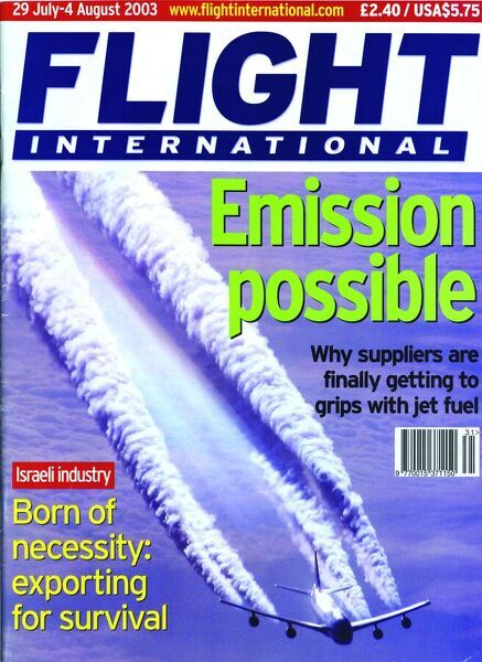 29 July-4 August 2003 Front Cover