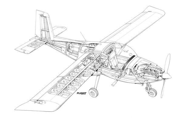 arv super 2 cutaway drawing