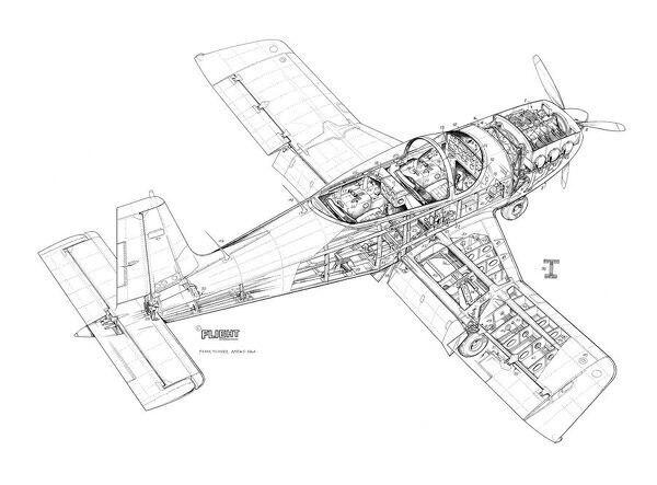 NDN Firecracker ND4 Cutaway Drawing
