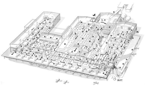 piper factory layout vero beach cutaway drawing