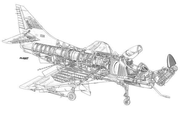 rnzaf smiths industries a 2 update cutaway drawing