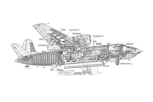 short sa4 sperrin cutaway drawing