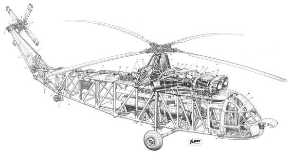 westland westminster cutaway drawing