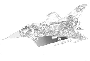 British Aerospace EAP Cutaway Drawing