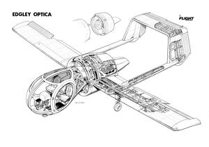 Edgley Optica Cutaway Drawing