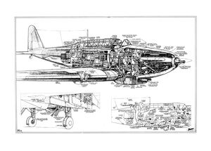 Fairey Battle Cutaway Drawing