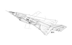 Fokker Alliance vstol aircraft Cutaway Drawing