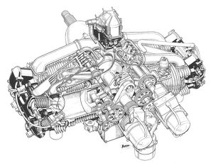 Jameson FF Cutaway Drawing