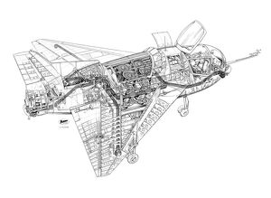 Short SC1 Cutaway Drawing