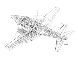 Ted Smith Aerostar 601P Cutaway Drawing