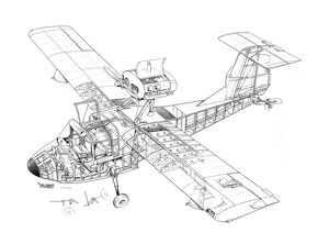 Thurston Teal Cutaway Drawing