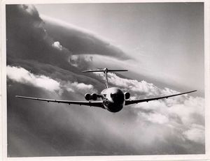 Vickers VC10 mid flight action shot