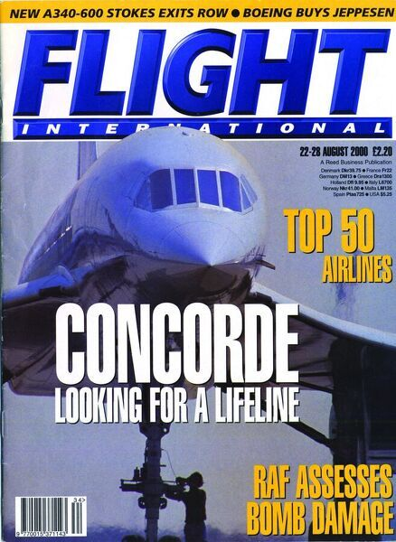 22-28 August 2000 Front Cover