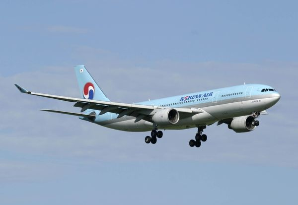 Korean Air on shrt final to land at Nadi