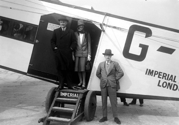 Armstrong Whitworth, AW, Argosy, Passengers, Imperial Airways, Croydon, 1929, 1920s, Historical, Civil, UK, Ground, Side, Ceased