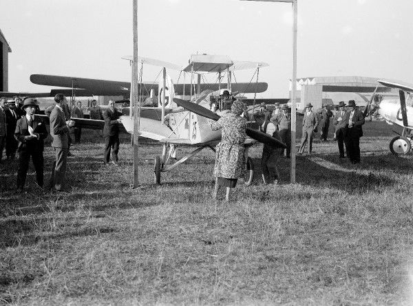 Avro Avian, Lady Heath, Orly Meeting, 20/09/28