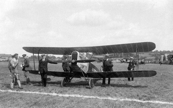 Avro Baby 1919 (c) The Flight Collection Not to be reproduced without permission