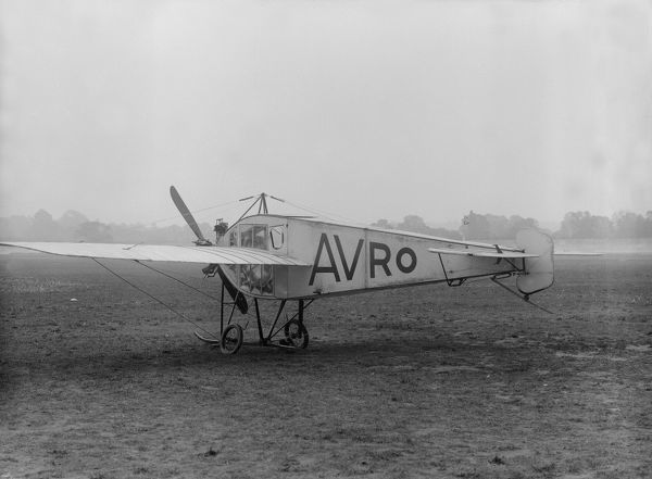 Avro Type F Cabin Monoplane 1910 (c) Flight