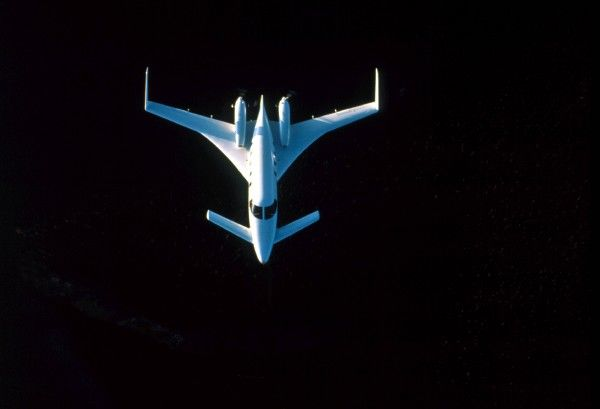 Beech Starship (c) Flight