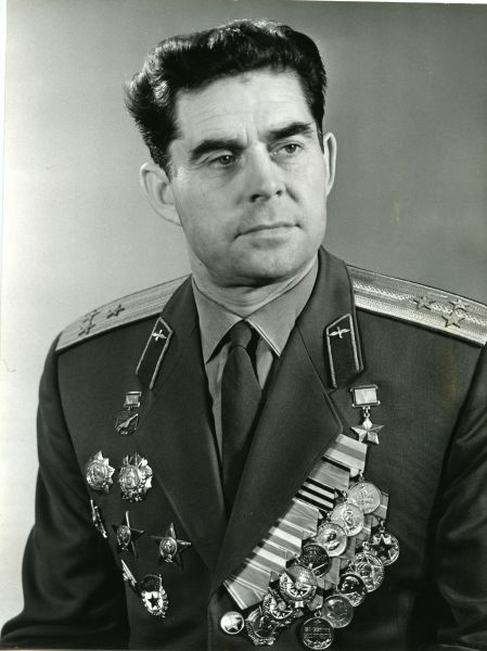Beregovoy. Head of the Soviet Union Georgy Beregovoy