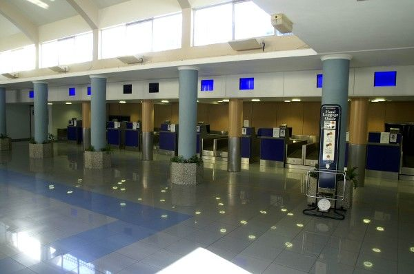 Check-in Gibralter Airport