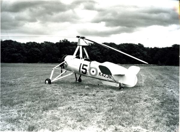 Cierva C30A, built by A V Roe in service as Auro671