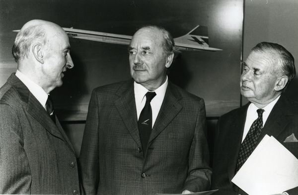 Sir George Edwards, Lord Breswick, and Lord Boyd-Carpenter