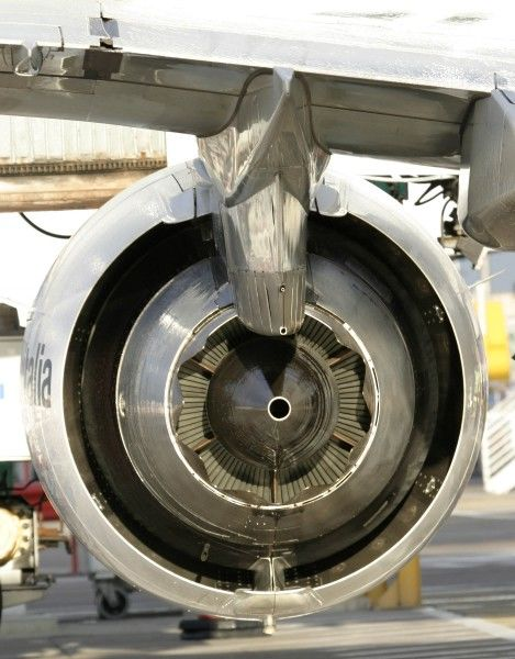 General Electric GE.... mounted on an Embraer 170