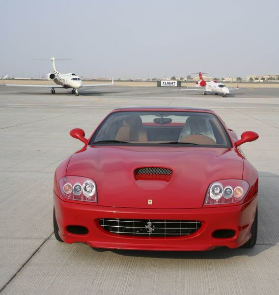 Gulfstream, Ferrari & Lear Jet - what more could you ask for