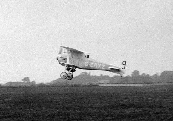 "Gloustershire Mars 1 ""Bamel"" G-EAXZ 1922 (c) The Flight Collection Not to be reproduced without permission"