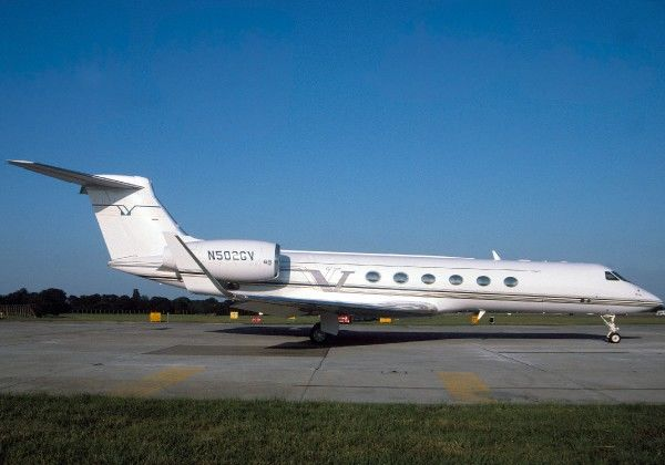 Gulfstream V (c) Shaw. The Flight Collection