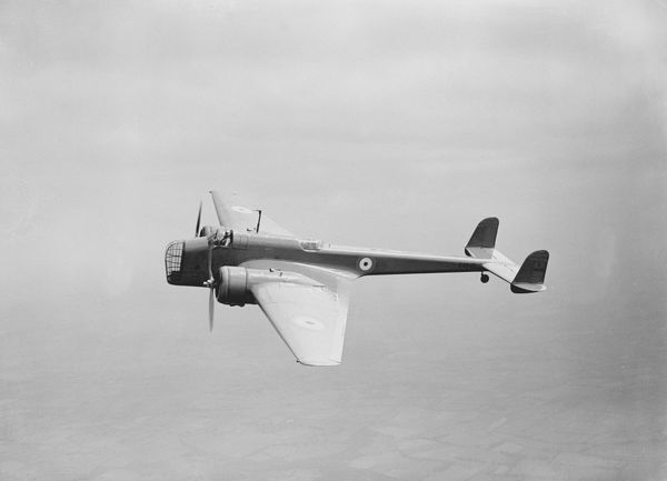 Handley Page, HP52, Hampden, Prototype, K4240, RAF, Bomber, Historical, 1936, 1930s, UK, a-a, side