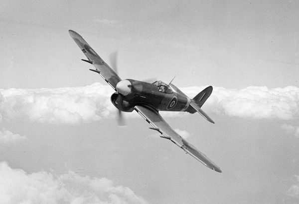 Hawker Typhoon 1A RAF 16/04/43 (c) The Flight Collection Not to be reproduced without permission