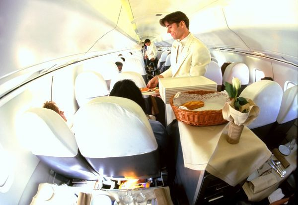 Interiors: Concorde Air France