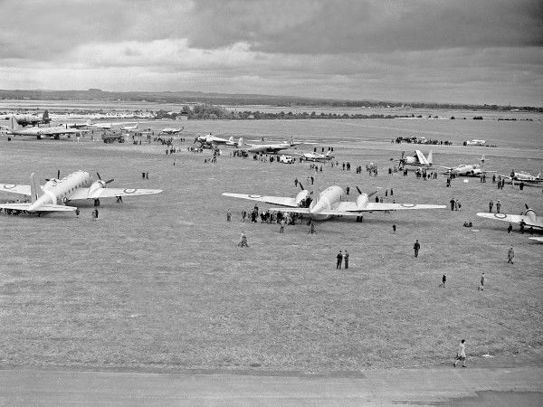 Thorney Island airshow 1954