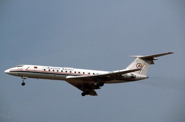 Tupolev Tu-134 Albanian Airlines (c) Shaw Not To Be Reproduced Without Permission