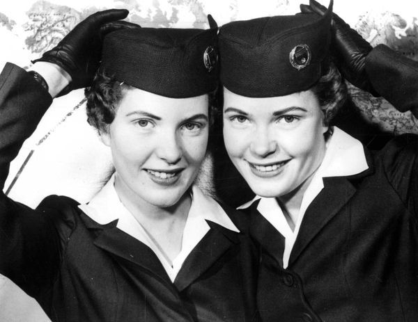 Twins with Wings. Confusion over identical twins Shirley