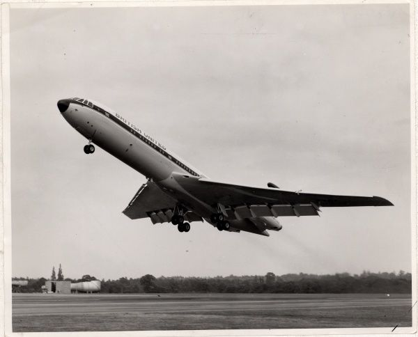 Vickers VC10. Flightglobal Flight Collection: Historical: Vickers VC10