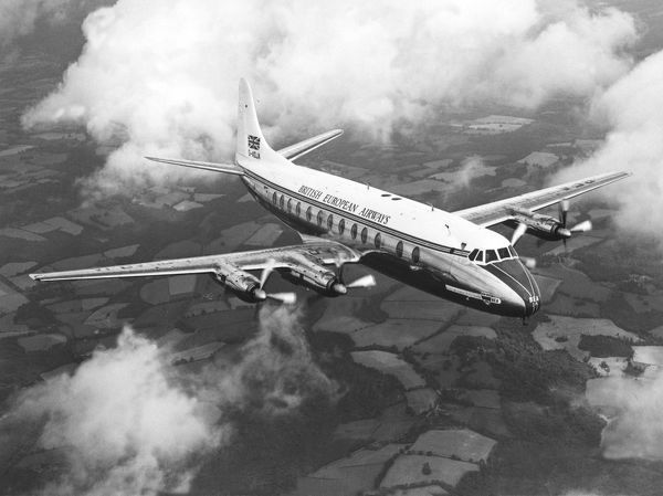 Vickers Viscount (c) Flight The Flight collectio n  not to be reproduced without permission or payment