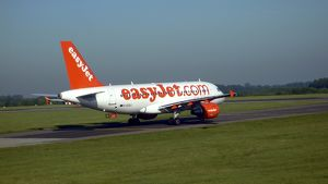 Airbus A319 Easyjet at Stansted