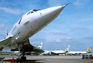 BAe Concorde and other BA planes
