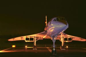 BAe Concorde on display at Manchester