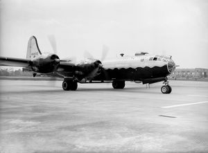 Boeing B-29 Superfortress USAF at RAF Marham UK 1947