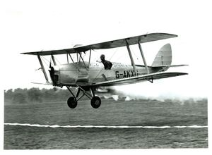 DH DH82 Tiger Moth, convrted to crop spraying