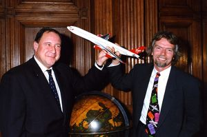 First A340-300 delivery to Virgin Atlantic