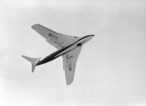 Handley Page Victor at 1953 SBAC airshow