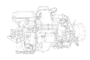 Honeywell RE 220 Cutaway Drawing
