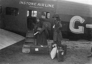 Passengers Boarding Instone Airlines Vickers Vimy 1921