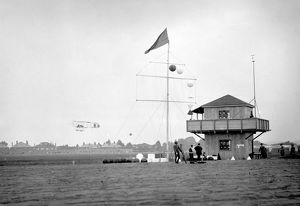 Watch tower and signal mast, Bournemouth